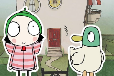 Sarah & Duck – Colouring