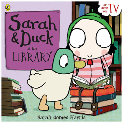 Sarah & Duck at the Library