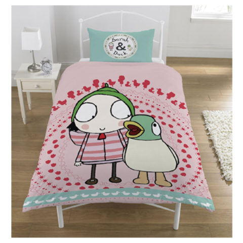 Sarah & Duck Duvet Set (Single)