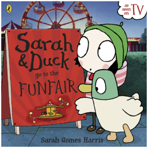 Sarah & Duck go to the Funfair