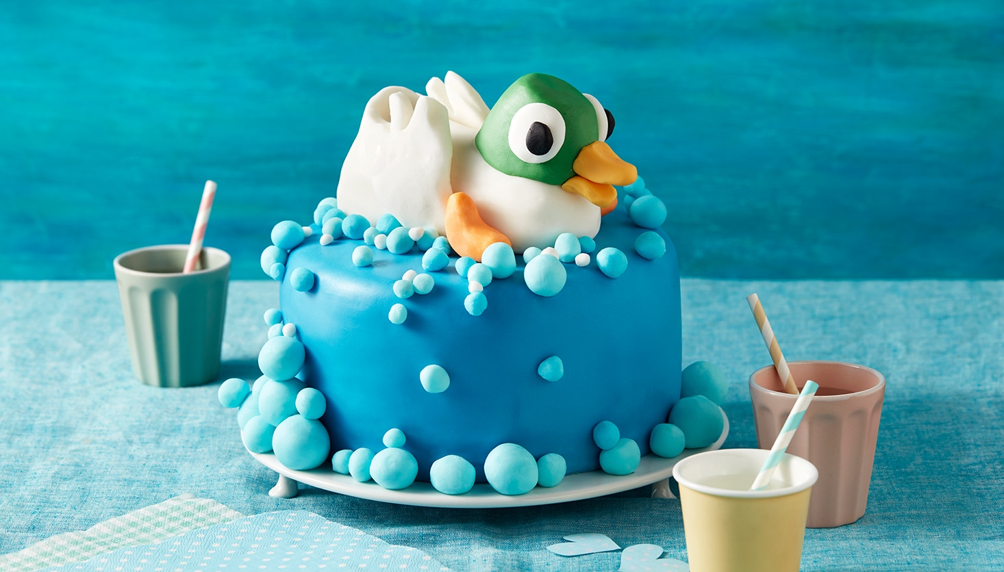 Duck Bubble Cake Sarah And