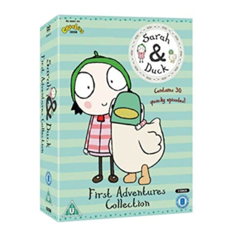 Sarah & Duck First Adventures Collection DVD